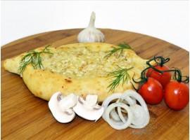 Хачапури с курицей и сыром